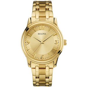 Bulova Men's Corporate Collection Gold-Tone Watch