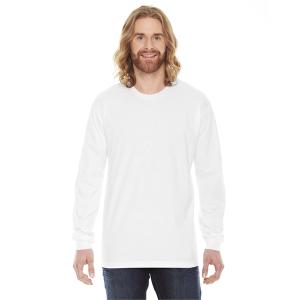 American Apparel Unisex Fine Jersey Long Sleeve T Shirt